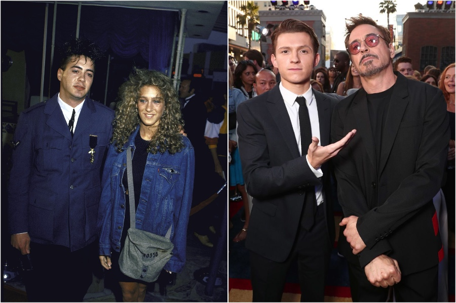 Robert Downey Jr. | What Stars Looked Like at Their First Red Carpet | Zestradar