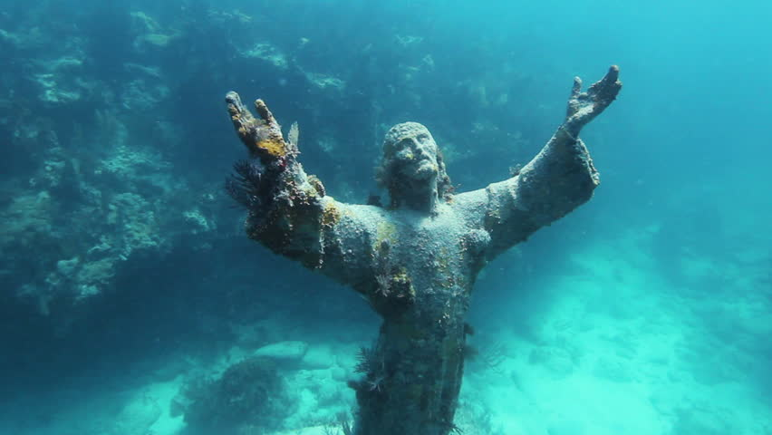 Christ of the Abyss | 15 Weirdest Places Around The World You Should Visit In 2020 | ZestRadar