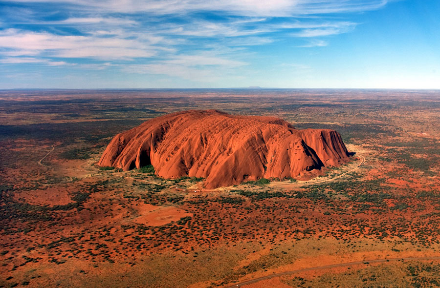 Monolith Of Uluru | 15 Weirdest Places Around The World You Should Visit In 2020 | ZestRadar