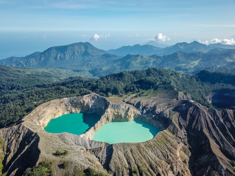 Mt. Kelimutu | 15 Weirdest Places Around The World You Should Visit In 2020 | ZestRadar