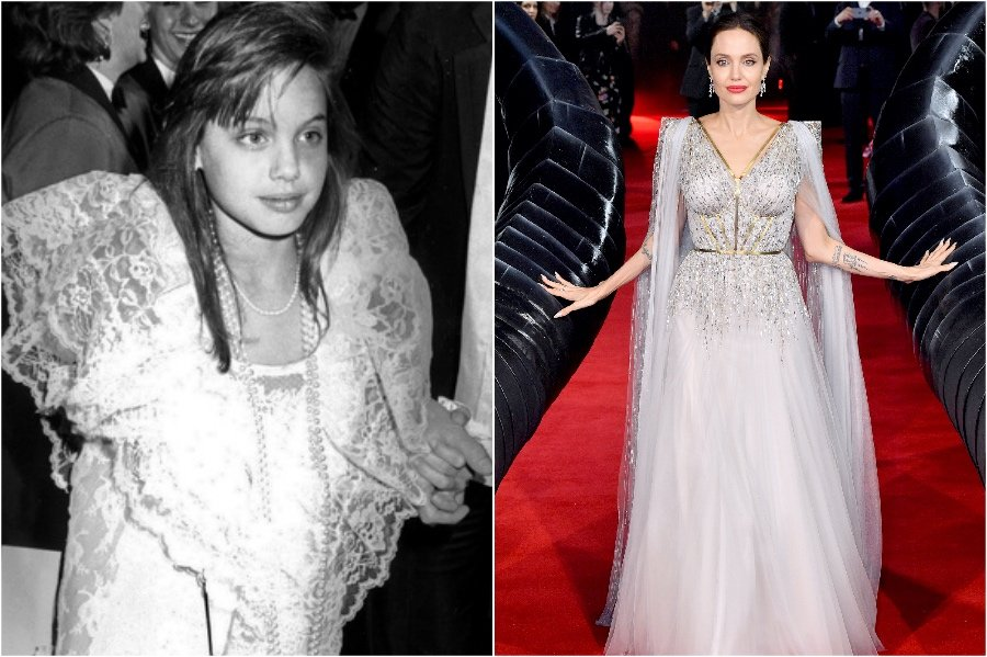 Angelina Jolie | What Stars Looked Like at Their First Red Carpet |