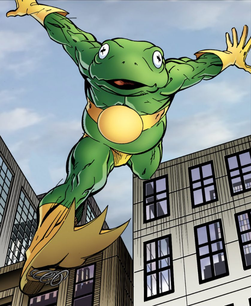 Frog-Man | What Are The Lamest Superheroes Of All Time? | Zestradar
