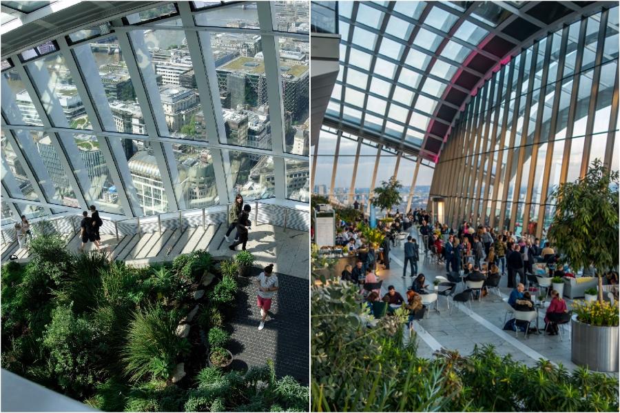 Sky Garden | 12 London Tourist Destinations Are So Good Even The Locals Love Them | Zestradar