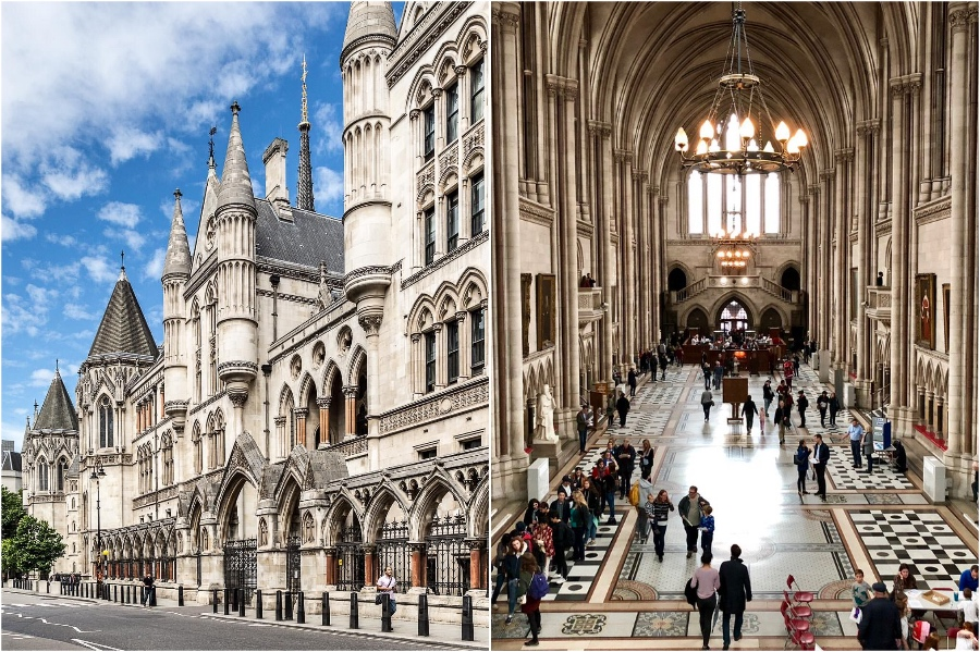 The Royal Courts Of Justice | 12 London Tourist Destinations Are So Good Even The Locals Love Them | Zestradar