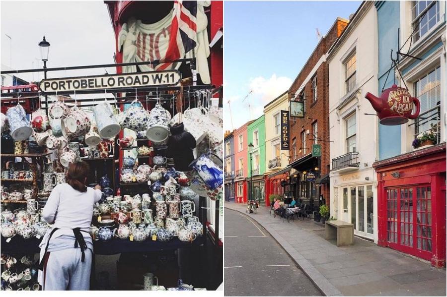 Portobello Road | 12 London Tourist Destinations Are So Good Even The Locals Love Them | Zestradar
