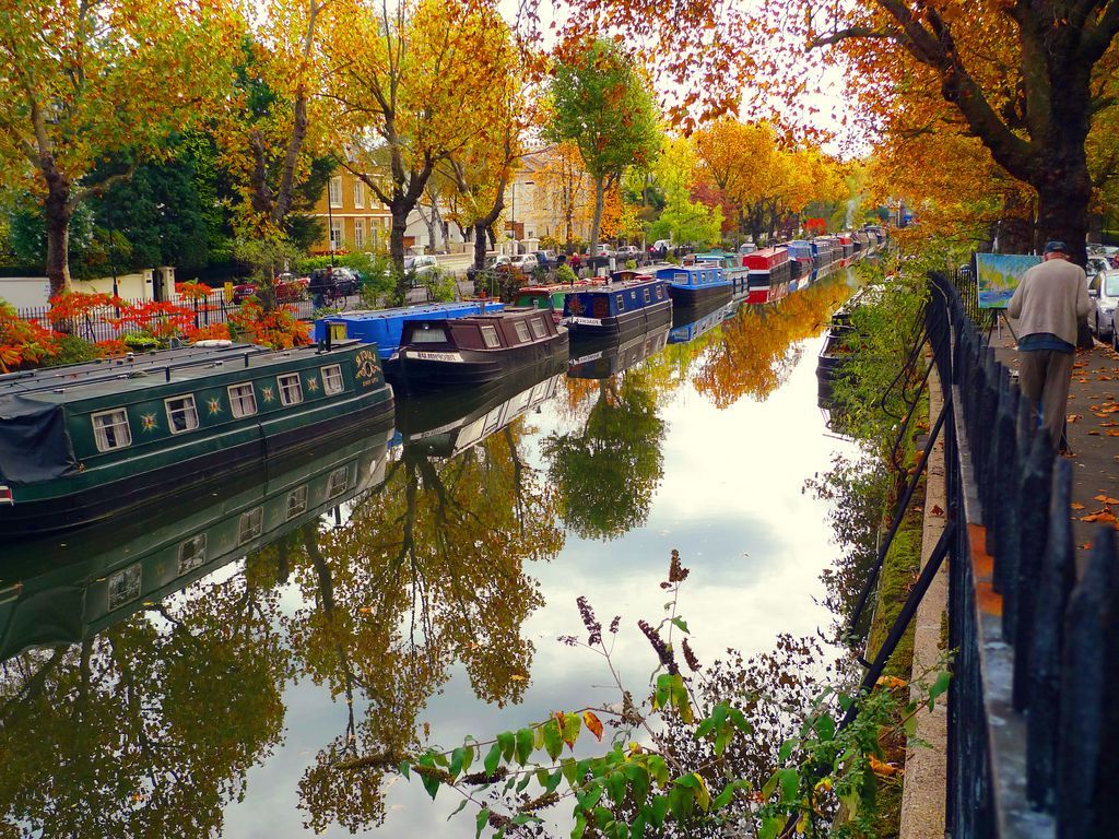 Regent's Canal | 12 London Tourist Destinations Are So Good Even The Locals Love Them | Zestradar