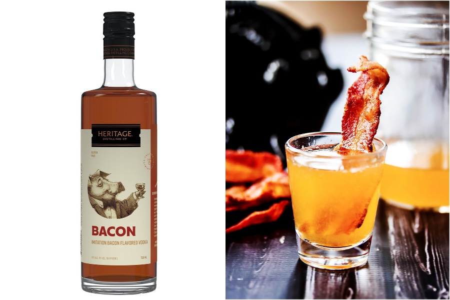 Bacon Vodka | 12 Surprising Ways To Add More Bacon Into Your Life | Zestradar