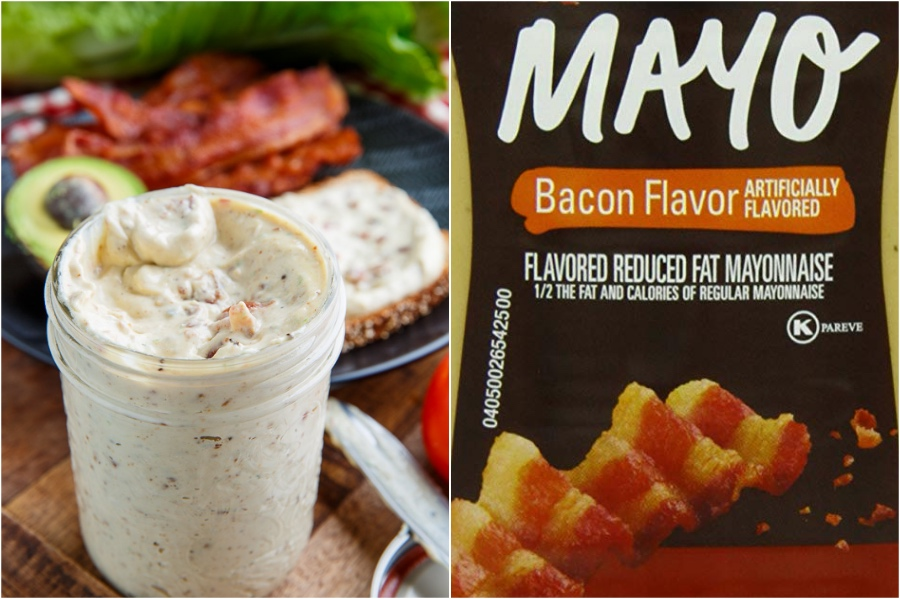 Bacon Mayo | 12 Surprising Ways To Add More Bacon Into Your Life | Zestradar