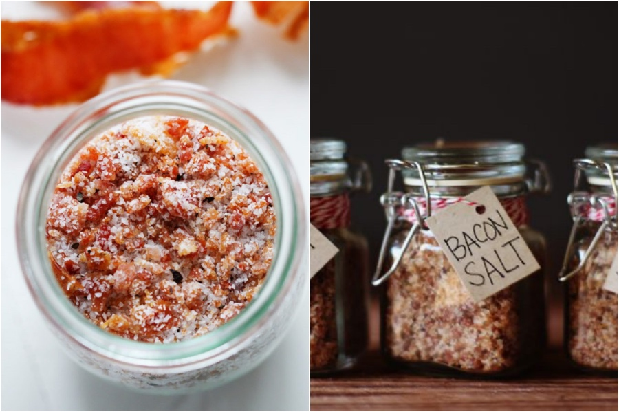 Bacon Salt | 12 Surprising Ways To Add More Bacon Into Your Life | Zestradar