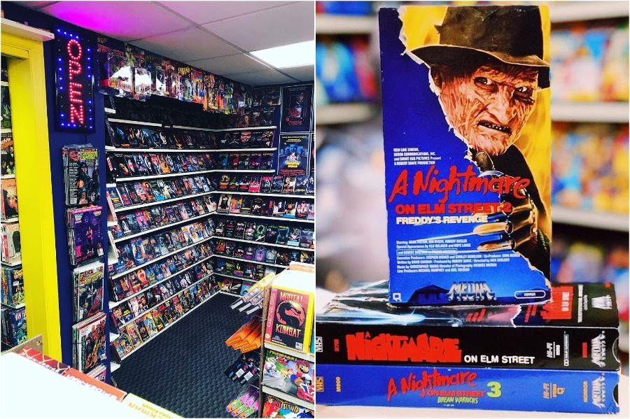 This Guy Built An Old School Blockbuster In His Basement #1 | Zestradar