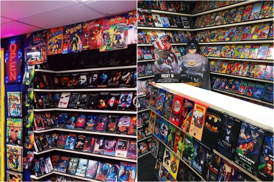 This Guy Built An Old School Blockbuster In His Basement #5 | Zestradar