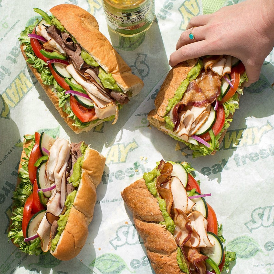 Subway | Ranking The Top Most Delicious Items On Famous Fast Food Chain Menus | Zestradar