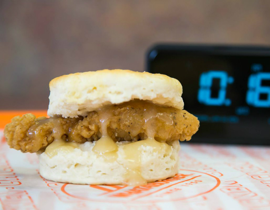 Honey Butter Chicken Biscuit | Ranking The Top Most Delicious Items On Famous Fast Food Chain Menus | Zestradar