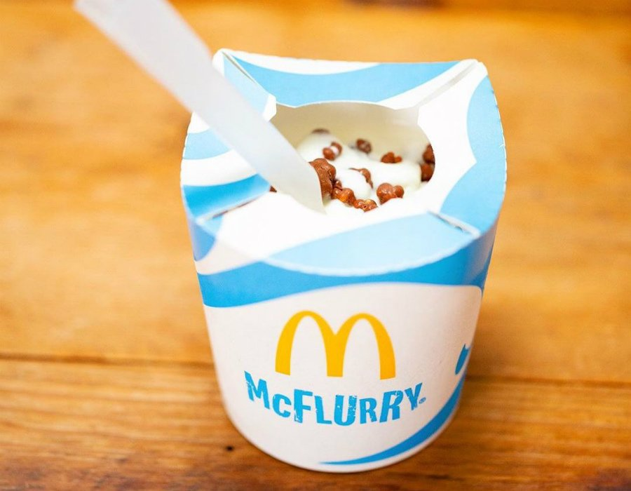 McFlurry | Ranking The Top Most Delicious Items On Famous Fast Food Chain Menus | Zestradar