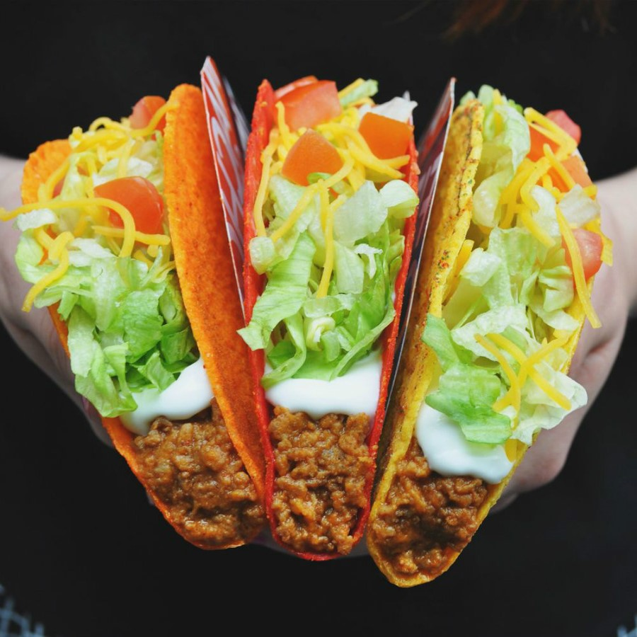 Crunchy Shell Tacos | Ranking The Top Most Delicious Items On Famous Fast Food Chain Menus | Zestradar