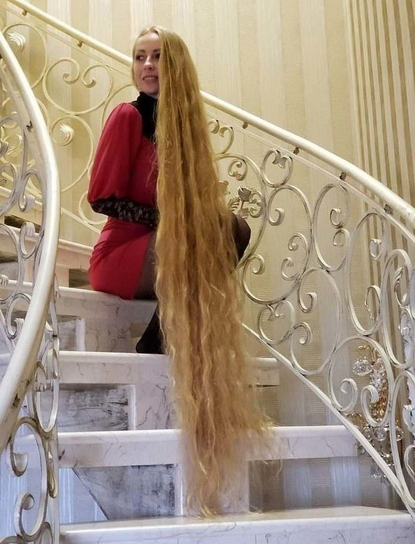 Meet Real-Life Rapunzel With 1.85 Meter Long Hair #2 | Zestradar