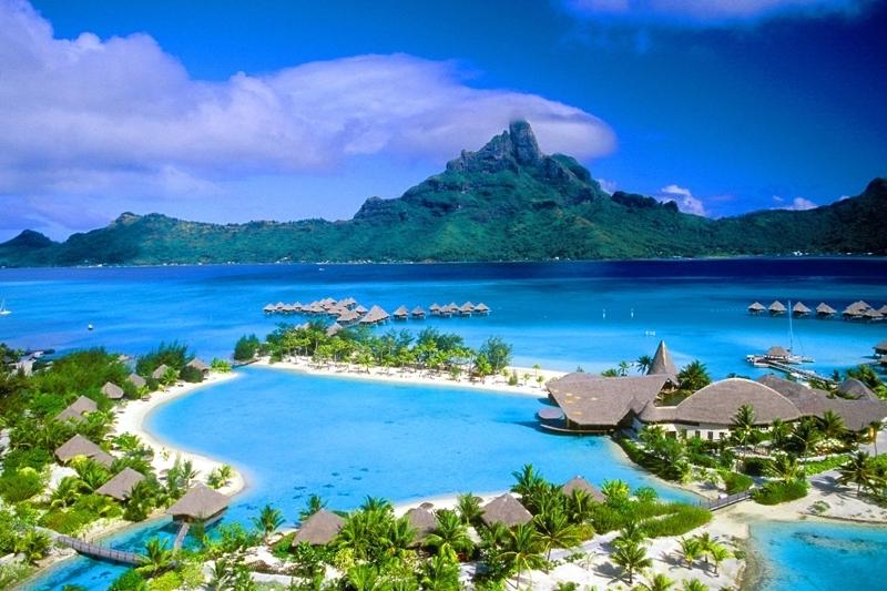 Бора Бора    Самые красивые острова планеты   Zwstradar