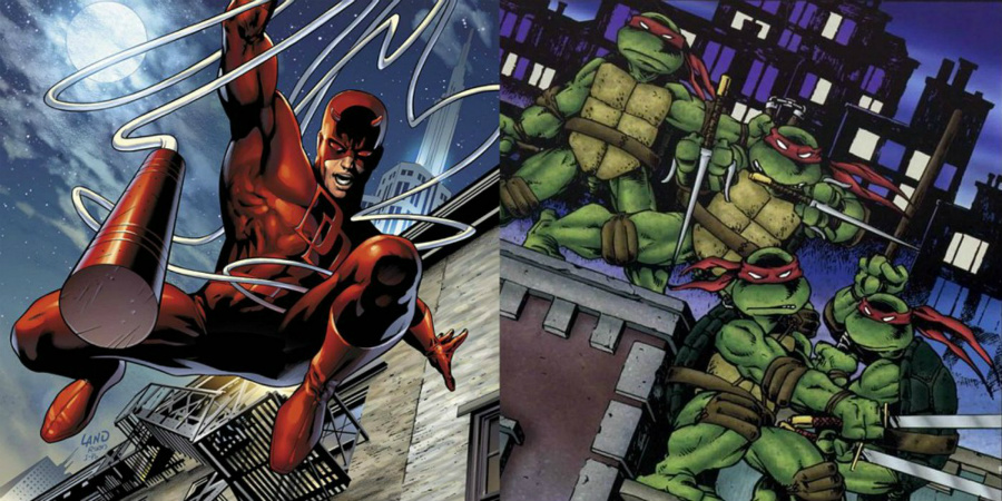 Ninja Turtles and Daredevil were exposed to the same radioactive waste  | We Bet You Didn't Know These 10 Kickass Facts About Marvel Comics | Zestradar
