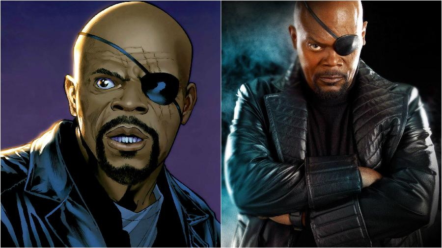 Nick Fury was specifically designed to look like Samuel L. Jackson | We Bet You Didn't Know These 10 Kickass Facts About Marvel Comics | Zestradar