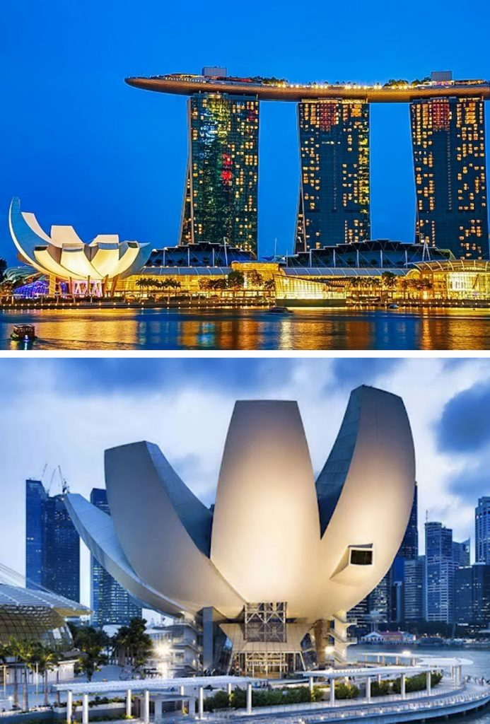 ArtScience Museum (Singapore) | 8 Incredible Buildings That Look Like Something From A Parallel Universe | Zestradar