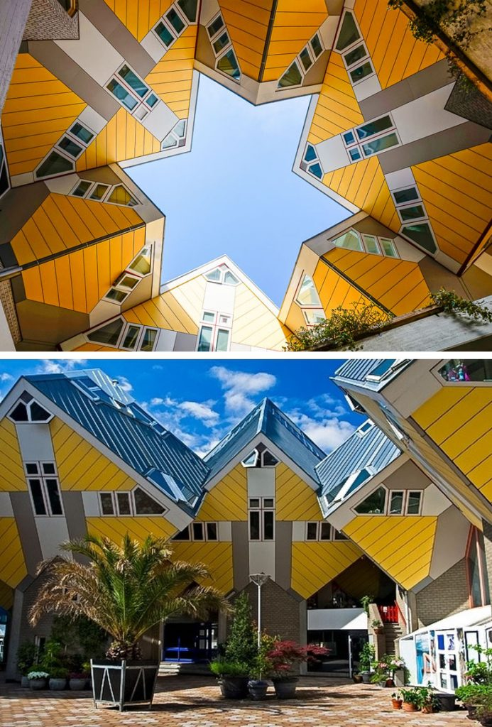 The Cubic Houses (Rotterdam, Netherlands) | 8 Incredible Buildings That Look Like Something From A Parallel Universe | Zestradar