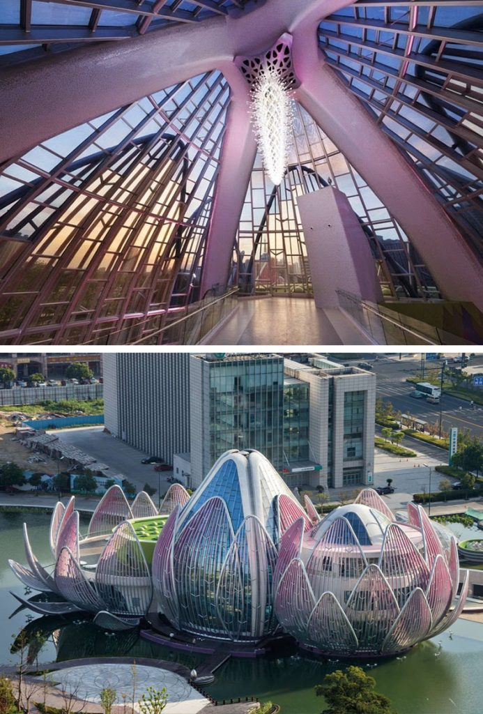 The Lotus Building (Wujin, China) | 8 Incredible Buildings That Look Like Something From A Parallel Universe | Zestradar
