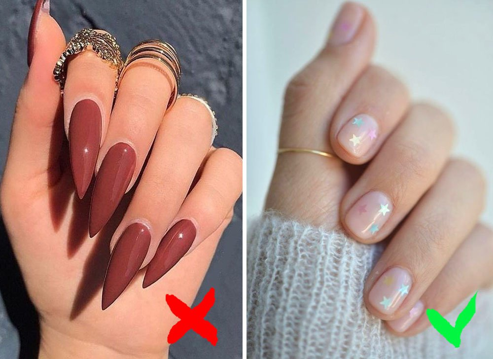 Wearing long nails | 9 Habits That Make You Look Old And Get You Sick | Zestradar