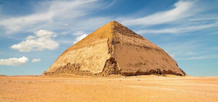 Bent Pyramid | 7 Ancient Pyramids Around The World | Zestradar