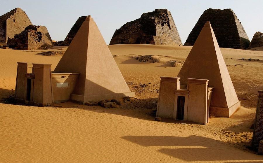 Nubian Pyramids | 7 Ancient Pyramids Around The World | Zestradar