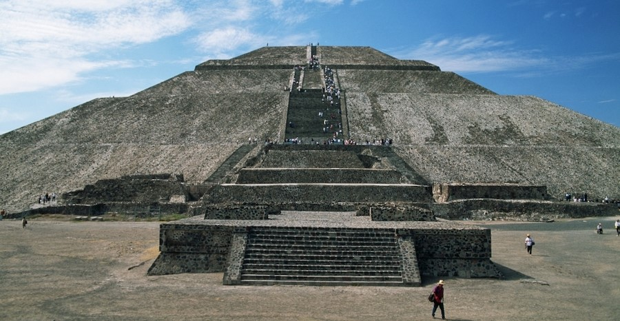 Pyramid of the Sun | 7 Ancient Pyramids Around The World | Zestradar