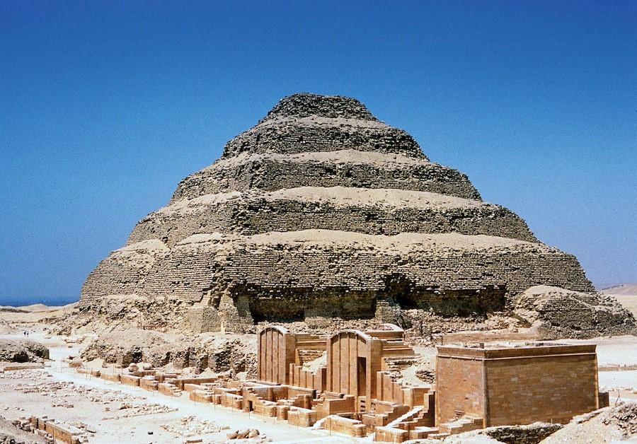 The Step Pyramid of Djoser | 7 Ancient Pyramids Around The World | Zestradar
