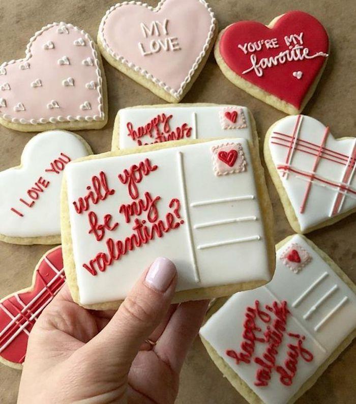 Literal Valentine | 12 Cute Valentines Day Cookies Ideas | Zestradar