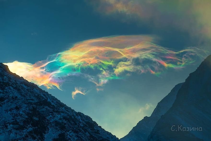 Photos of Iridescent Clouds In Siberia Take The Internet By Storm | Zestradar