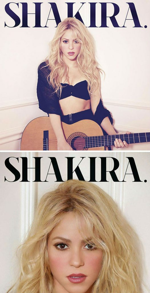 Shakira   West vs. Middle-East: 6 Album Covers That Transformed Beyond Recognition   Zestradar