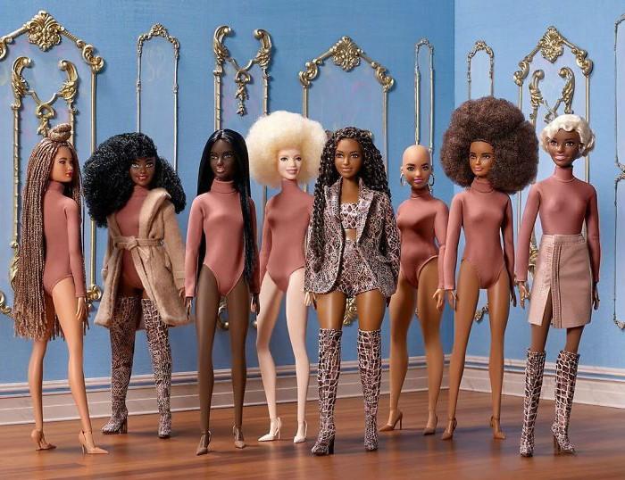 Barbie's New Line of 10 Dolls Represents Millions of Black Girls All Over the World   Zestradar