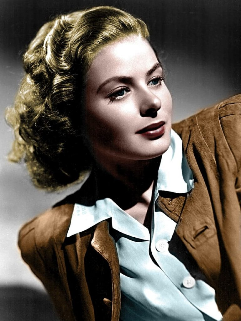 3 Ingrid Bergman | 9 Legendary Actresses From The Golden Age of Hollywood | Brain Berries