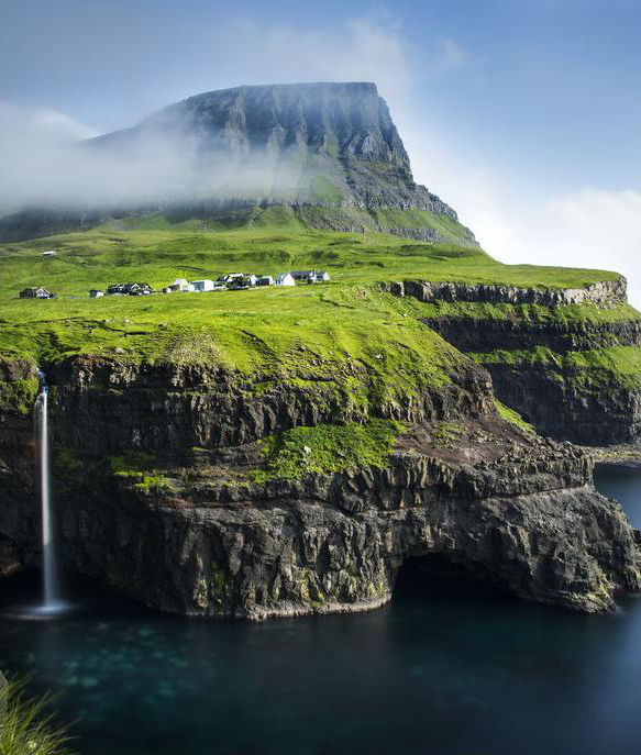 Gasadalur, Faroe Islands | These Are Arguably The Most Beautiful Villages On Earth | Zestradar