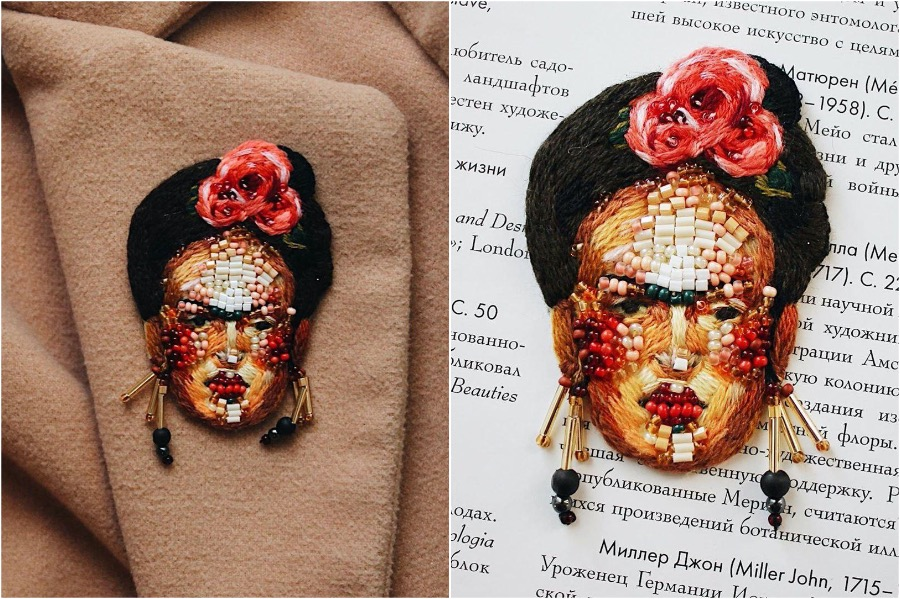 #4 | Embroidery Brooches Van Gough Would Be Impressed By | Gammicks.com