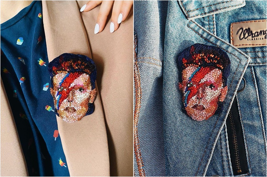 #9 | Embroidery Brooches Van Gough Would Be Impressed By | Gammicks.com