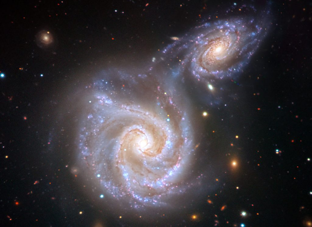 It's all part of the stellar evolution | Milky Way Will Collide With A Neighbour Galaxy, And It's Inevitable | ZestRadar
