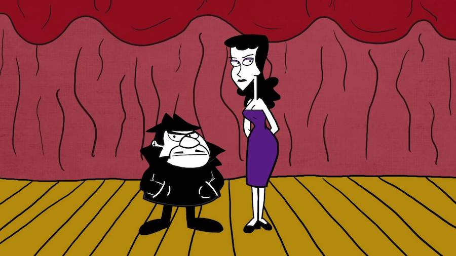 The Adventures of Rocky and Bullwinkle and Friends – Boris Badenov and Natasha Fatale (1959-1964) | The 8 Best Animated Villains You Will Remember | Zestradar