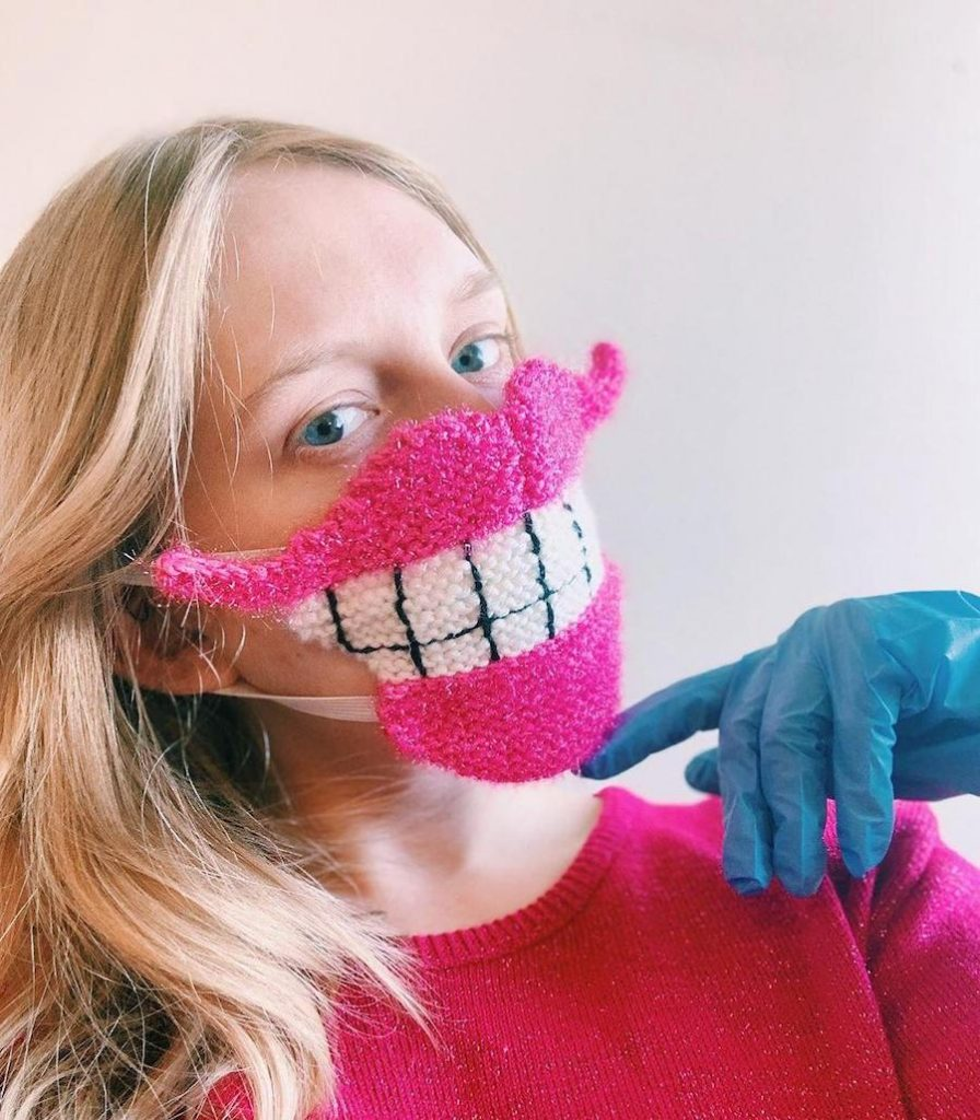 #2 | Unique Knitted Face Masks By An Artist From Iceland | Zestradar