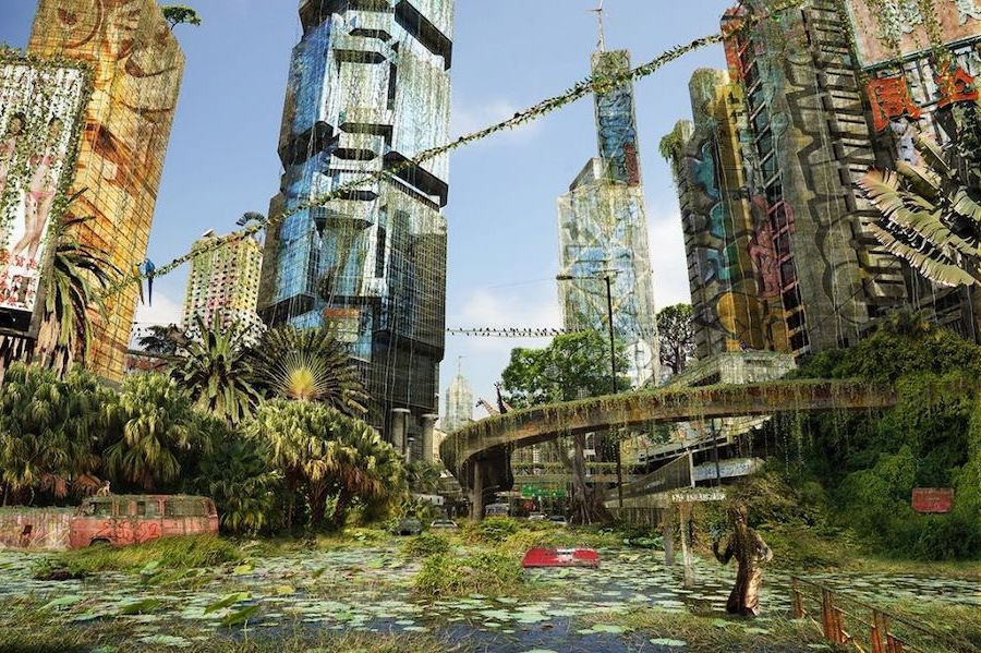 What Would Cities Look Like If Humans Disappeared #11   Brain Berries