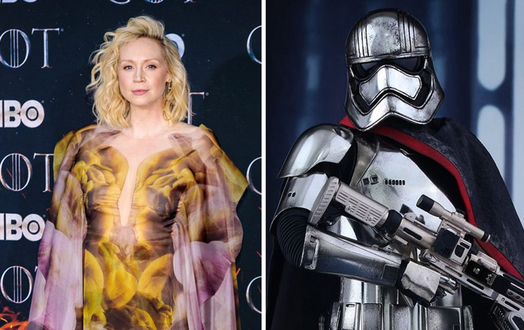 Captain Phasma (The Force Awakens) | 10 Frightening Movie Villains Who Look Gorgeous In Real Life | Zestradar