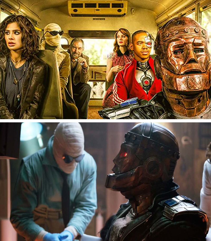 Doom Patrol | 10 Visually Stunning Sci-Fi TV Shows You Need To Watch In 2020 | Zestradar