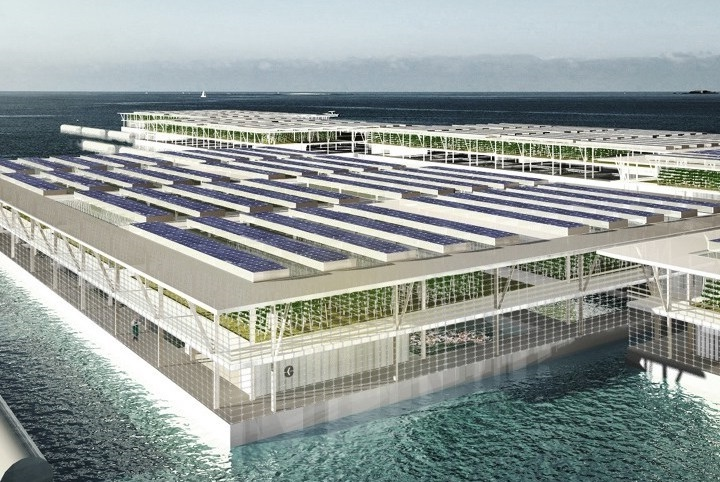 Floating food farms | Future Tech: 9 New Inventions That Are About To Change The World |