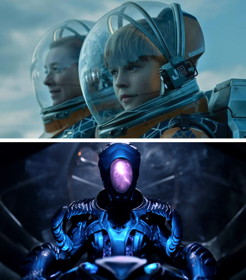 Lost in Space | 10 Visually Stunning Sci-Fi TV Shows You Need To Watch In 2020 | Zestradar