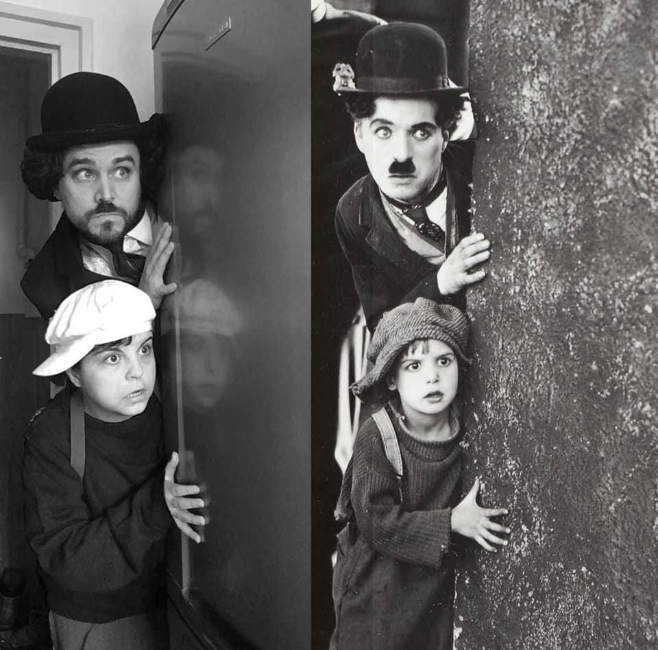 #18 | Пара на карантине воссоздает кадры из известных фильмов | Zestradar