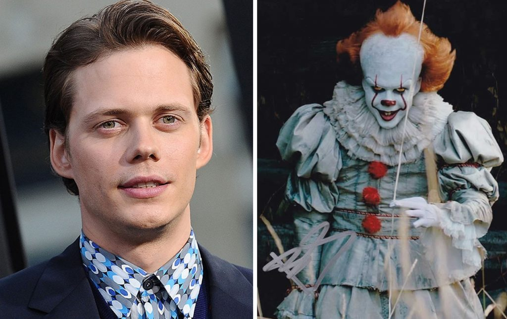 Pennywise (IT) | 10 Frightening Movie Villains Who Look Gorgeous In Real Life | Zestradar