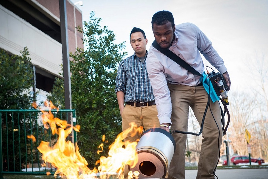 Extinguish fire with sound | Future Tech: 9 New Inventions That Are About To Change The World | Zestradar